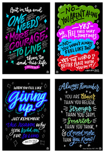 The Suicide Prevention Collection | 4 - Pack