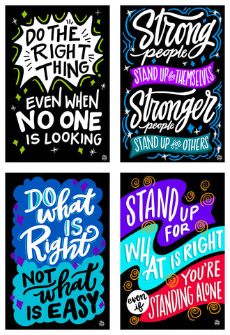 The Do What's Right Collection | 4 - Pack