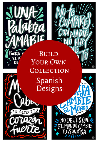 Spanish - Single Decals | Build Your Own Collection C