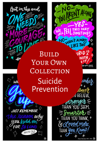 Suicide Prevention - Single Decals | Build Your Own Collection
