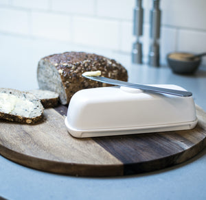 Open image in slideshow, White Butter Hub butter dish