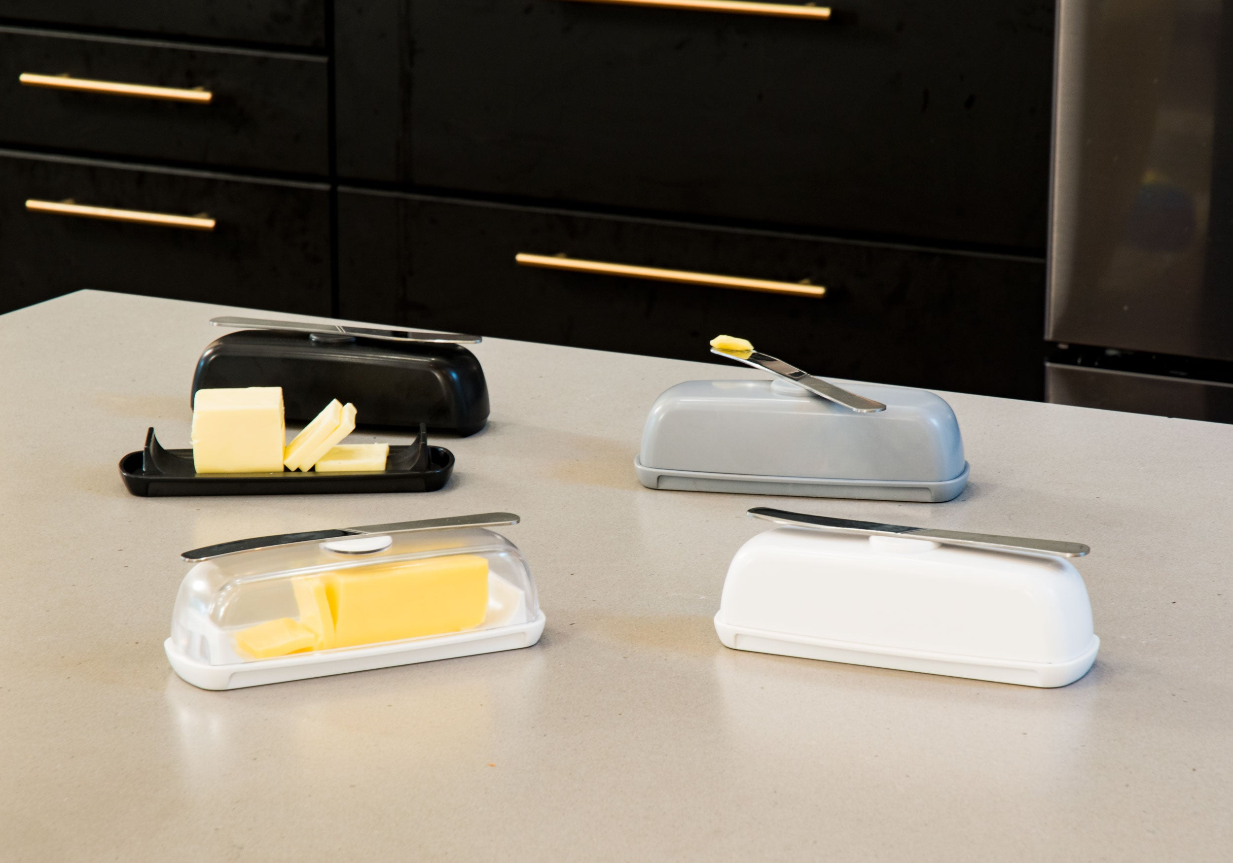 Four colors Butter Hub butter dish
