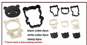 20sets Panda Sandwich Cookies Cutter Mold Biscuit Bread Cake Pastry Mould Sugarcraft