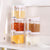 5pcs/set Seasoning Spice Plastic Bottles Jars Boxes Kitchen Storage Organizer Condiment Lid Can Cover Organization Accessories
