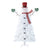 Holiday Time Pre-Lit Snowman Artificial Christmas Tree, White Lights, White Color, 6.5'