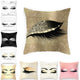 9 Styles Innovative  Eyelash Soft Cushion Cover Sequin Glitter Pillow Cases 45*45cm Pillow Case