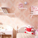 Ballet Princess Children Room Decoration Wallpaper 3D Cartoon Pink Girls Bedroom Environmental Protection Non-woven Wall paper