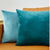 Blue Throw Pillow Cover Velvet Cushion Cover For Living Room Sofa 45*45 Kussenhoes Cushions Home Decoration Housse De Coussin
