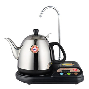 Electric Stainless Steel Tea Kettle with Automatic Lazy Water Pipe T-22A Kamjove Electric Tea Kettle