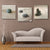 3 Panel Sand Stone Painting Wall Art Poster