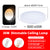 LED Music Ceiling Light RGB Bluetooth Speaker Lamp Home Party Bedroom 220V 36W 40W  Remote Dimmable APP Smart Colorful Lighting