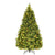 Costway 7Ft/7.5FT/8FT Pre-Lit Artificial Christmas Tree Hinged w/ 460/540/600 LED Lights & Pine Cones