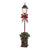 Holiday Time Prelit Lamp Post Christmas Tree 4 ft, Bronze