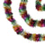 50' Festive Shiny Rainbow Colored Christmas Foil Tinsel Garland - Unlit - 8 Ply