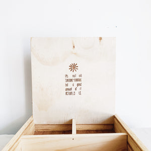 DisPlay Tray Box