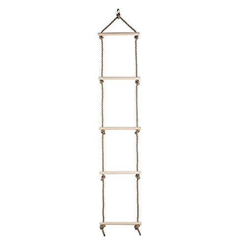 comingfit Sturdy Rope Climbing Ladder for Kids