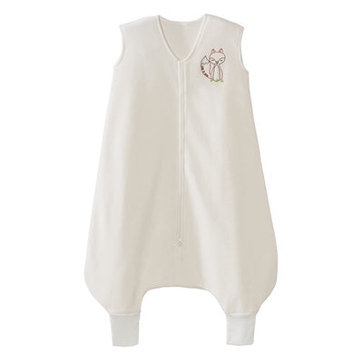 Halo Early Walker Sleepsack Wearable Blanket, Cream with Fox, X-Large