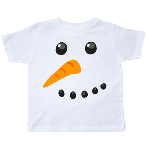 inktastic Snowman Face Toddler T-Shirt