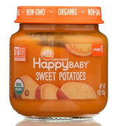 HAPPY BABY Organic Stage 1 Sweet Potatoes, 4 Ounce