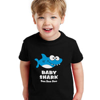 Baby Shark Song Doo doo doo Family Dance for Boy Girl Toddler Kids T-Shirt