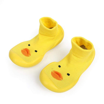 A-Caring Breathtalk Small Yellow Duck Indoor Anti-Skid Shoes