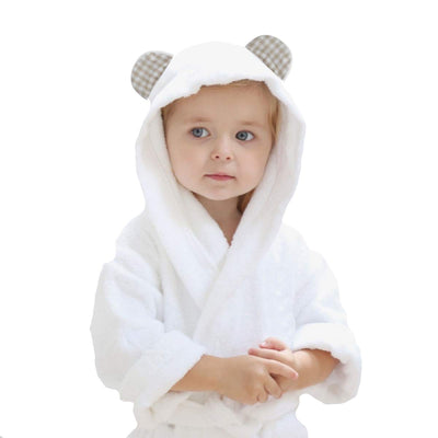 Channing & Yates - Premium Baby Robe - Toddler Robe - Organic Bamboo Hooded Bathrobe Towel - Thick & Soft