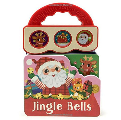 Jingle Bells: Christmas Sound Book (3 Button Sound) (Early Bird Sound Books)
