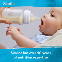 Similac for Supplementation Non-GMO Infant Formula with Iron, Baby Formula, 2 Fl Oz Bottles (Pack of 48)