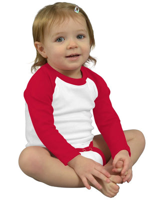 Monag Long Sleeve Raglan Bodysuit