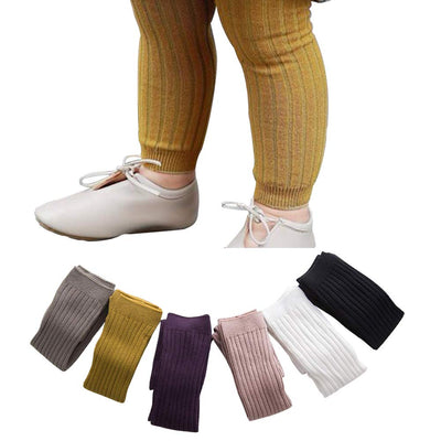 Baby Tights Leggings Pantyhose Kids Cable Knit Cotton Pants Stockings for Girls 6/5 Pack