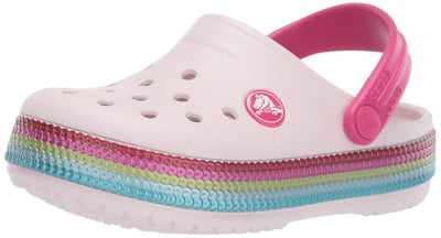 Crocs Kids' Crocband Sequin Band Clog