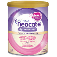 Neocate SyneoTM Infant, 14.1 oz / 400 g (Case of 4 cans)