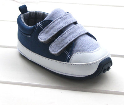 Kuner Baby Boys Girls Cotton Rubber Sloe Outdoor Sneaker First Walkers Shoes