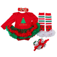 Slowera Baby Girls Christmas Outfits Clothes