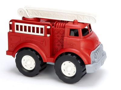 Green Toys Fire Truck - Frustration Free Packaging, Red