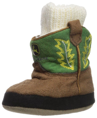 John Deere Baby Boys' Infant Slippers