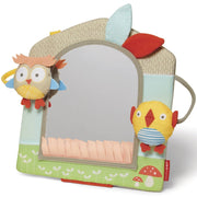 Skip Hop Baby Treetop Friends Activity Mirror, Grey Pastel (Recolor), Multi