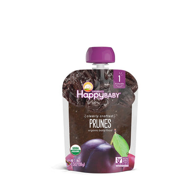 Happy Baby, Baby Food Stage 1 Clearly Crafted Prunes Organic, 3.5 Ounce