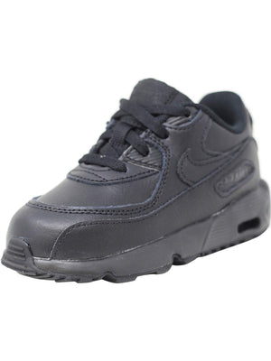 Nike Air Max 90 LTR (TD) Toddler Shoes Black/Black 833416-001 (7 M US)