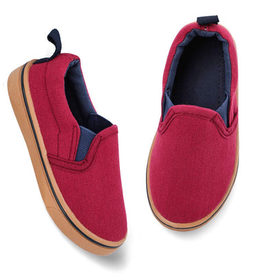 okilol Toddler Shoes Slip On Canvas Sneakers for Boys & Girls