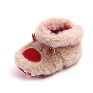 YEAPOOK Cute Baby Christmas Shoes, Anti-Slip Slipper Floor Socks, Toddler Girls Boys Winter Non-Slip Booties