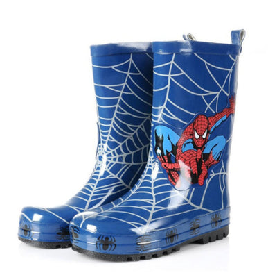 Spider-Man Boy Kids Wellington Boots Wellies Rain Boot (Toddler/Little Kid)