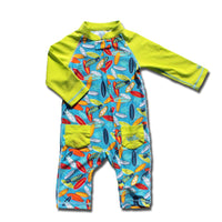 UV Skinz Baby Boys' UPF 50+ Body Sun/Swim Suit - Kids' Sun-Blocking Swimwear