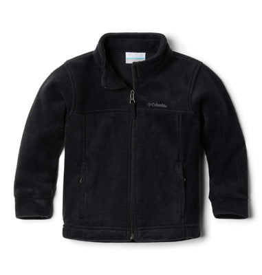 Columbia Boys' Toddler Steens Mt II Fleece Jacket, Black, 2T