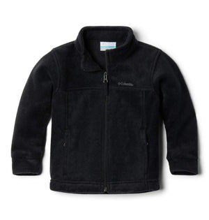 Columbia Boys' Steens Mt II Fleece Jacket, Black, 6/12