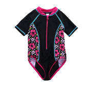 Vivafun Baby Girl Sun Protective Swimwear Infant Toddler Rash Guard Shirt