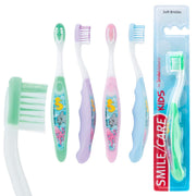 SmileCare Toddler Sea Life Pals Toothbrushes - Dental Hygiene Products - 48 per Pack