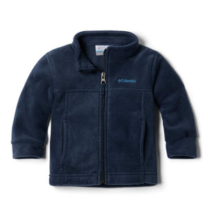 Columbia Boys' Steens Mt II Fleece Jacket, Collegiate Navy, 12/18