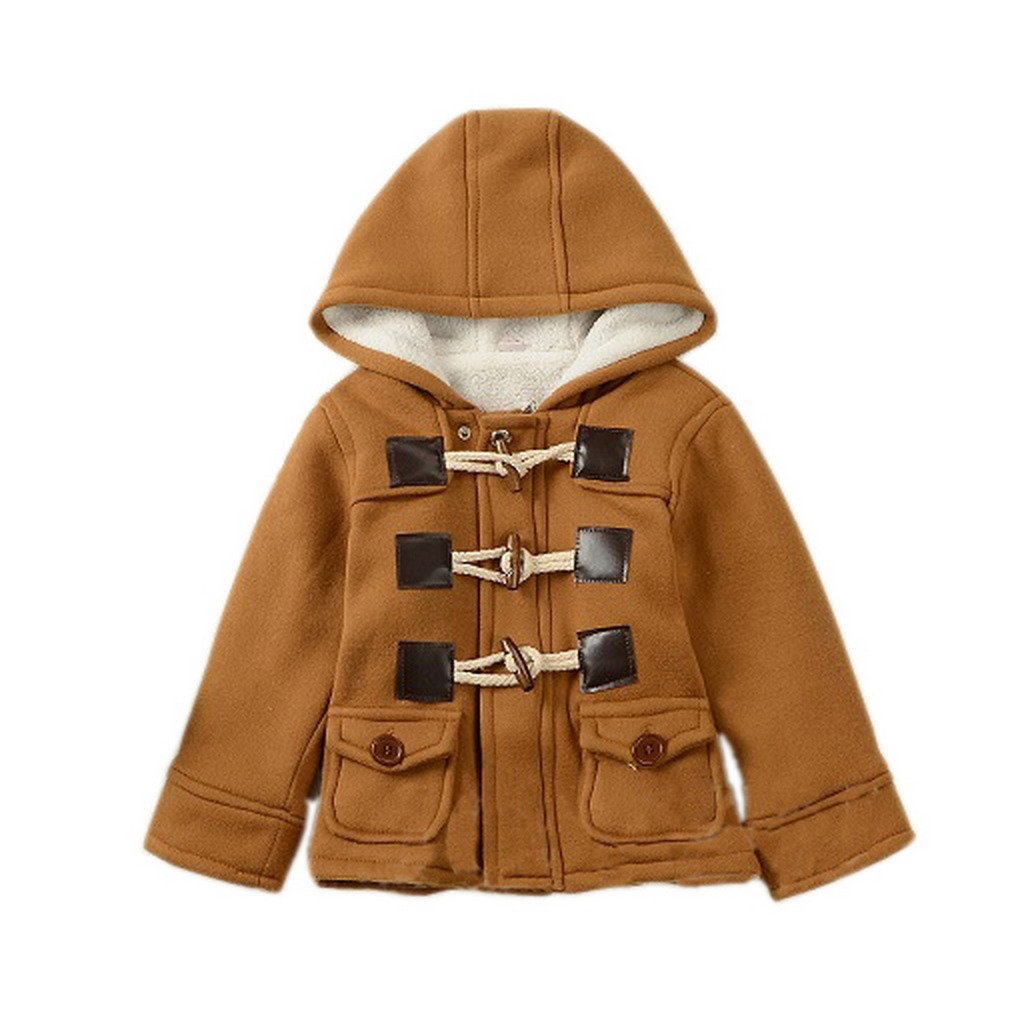 GETUBACK Baby Boy's Hooded Fleece Coat Winter Outwear