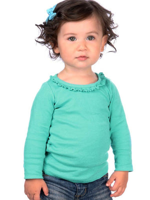 Kavio! Infants Sunflower Long Sleeve Top